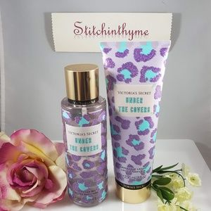 VICTORIA'S SECRET 'UNDER THE COVERS LOTION & MIST